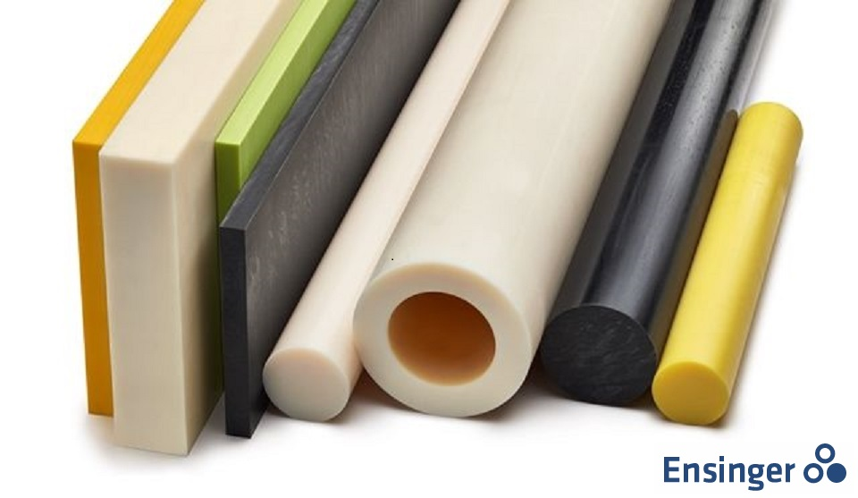 Nylon engineering plastics. Nylon rod, nylon tube and nylon sheet are available.