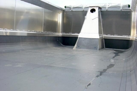 high temp truck liners fitted to truck