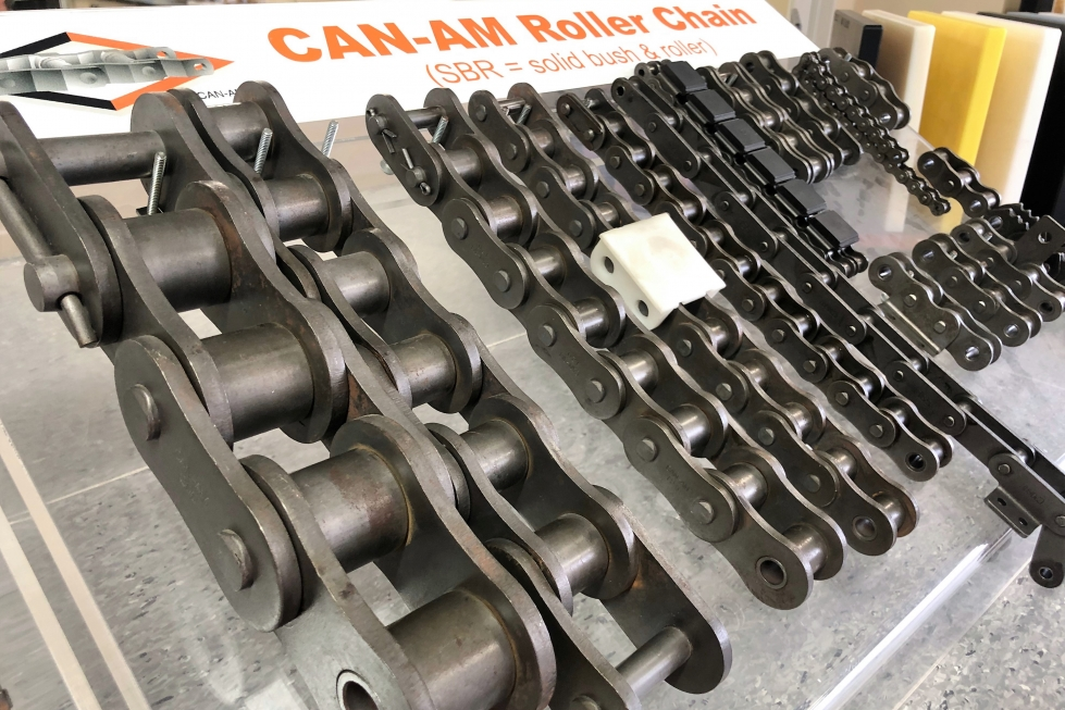 roller chain supplier based in new zealand showing roller chain range
