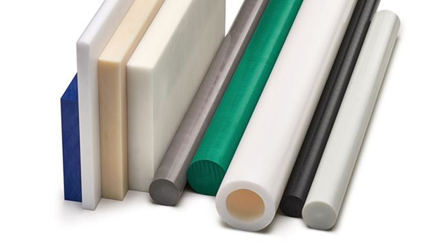 Acetal plastics in rod tube sheet