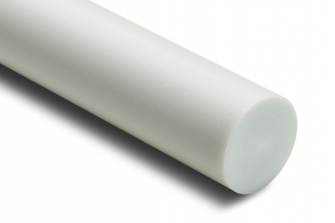 Tecaform Acetal rod with 25 Glass Filled