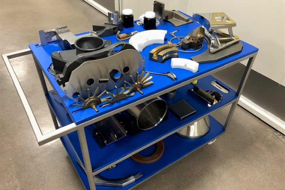 Change parts trolley nz manufactured by Supply Services