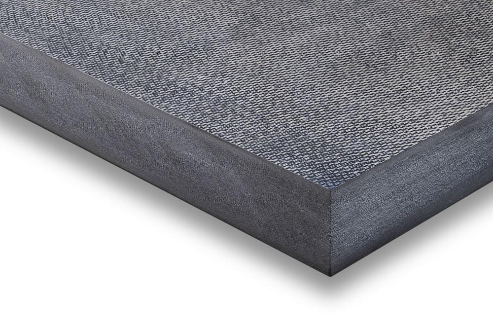 TECATEC PPS CW50 black (Polyphenylene sulfide, carbon fibre-reinforced)