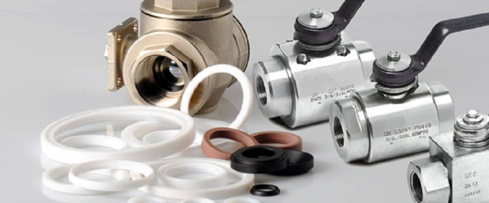 steel ball valve ptfe applications